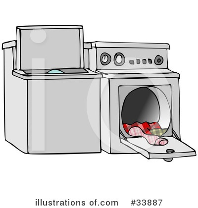 Washing Machine Clipart #33887 by djart