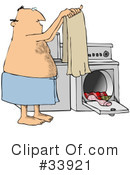 Laundry Clipart #33921 by djart