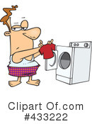 Laundry Clipart #433222 by toonaday
