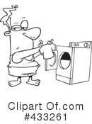 Laundry Clipart #433261 by toonaday