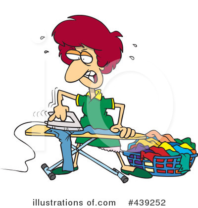 Ironing Clipart #439252 by toonaday