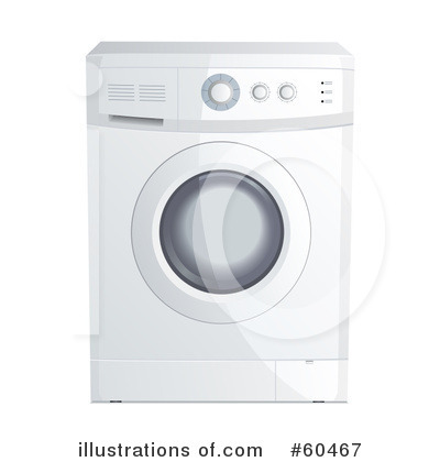 Washing Machine Clipart #60467 by Oligo