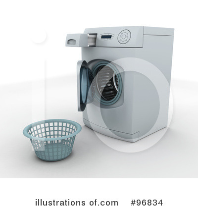 Washing Machine Clipart #96834 by KJ Pargeter