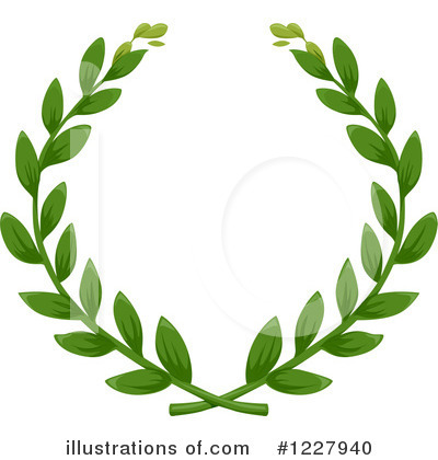 Laurel Wreath Clipart #1227940 by BNP Design Studio