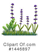 Lavender Clipart #1446897 by Graphics RF