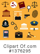 Royalty-Free (RF) Law Clipart Illustration #1376295