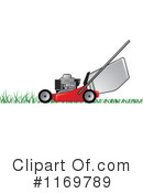 Royalty-Free (RF) lawn mower Clipart Illustration #1169789