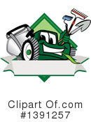Lawn Mower Clipart #1391257 by Toons4Biz
