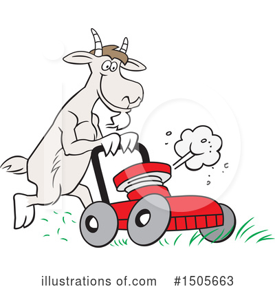 Lawn Mower Clipart #1505663 by Johnny Sajem