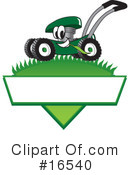 Lawn Mower Clipart #16540 by Toons4Biz