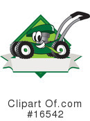 Lawn Mower Clipart #16542 by Toons4Biz