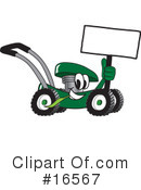 Lawn Mower Clipart #16567 by Toons4Biz