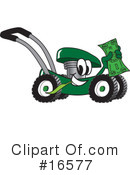 Lawn Mower Clipart #16577 by Toons4Biz