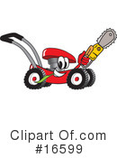 Royalty-Free (RF) lawn mower Clipart Illustration #16599