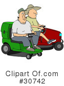 Lawn Mower Clipart #30742 by djart