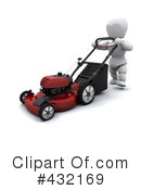 Lawn Mower Clipart #432169 by KJ Pargeter