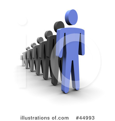 Royalty-Free (RF) Leadership Clipart Illustration by Jiri Moucka - Stock Sample #44993
