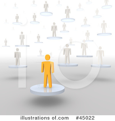 Royalty-Free (RF) Leadership Clipart Illustration by Jiri Moucka - Stock Sample #45022