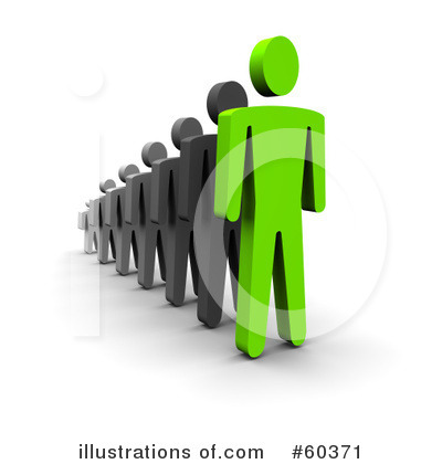 Royalty-Free (RF) Leadership Clipart Illustration by Jiri Moucka - Stock Sample #60371
