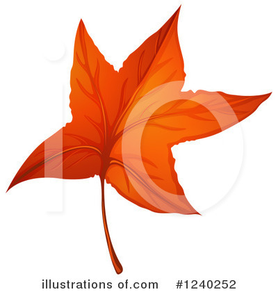 Maple Leaf Clipart #1240252 by Graphics RF