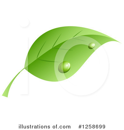 Leaves Clipart #1258699 by KJ Pargeter