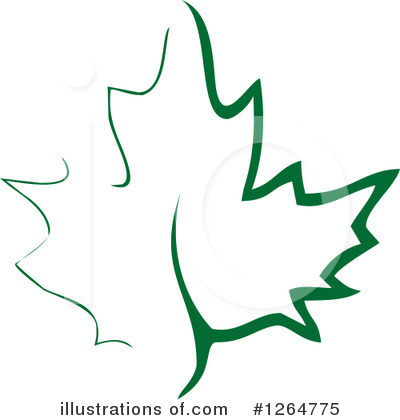 Leaves Clipart #1264775 by Vector Tradition SM