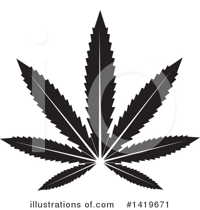 Marijuana Clipart #1419671 by cidepix