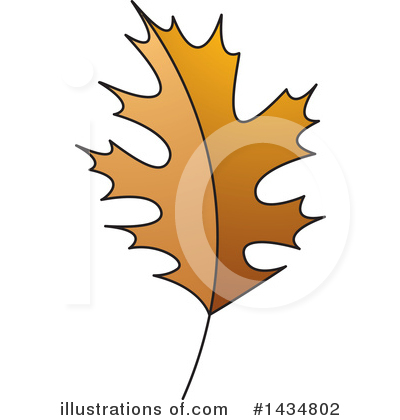 Maple Leaf Clipart #1434802 by Lal Perera