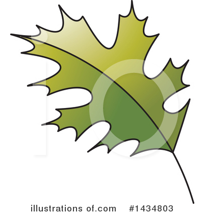 Maple Leaf Clipart #1434803 by Lal Perera