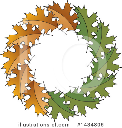 Maple Leaf Clipart #1434806 by Lal Perera