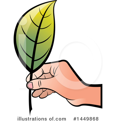 Royalty-Free (RF) Leaf Clipart Illustration by Lal Perera - Stock Sample #1449868