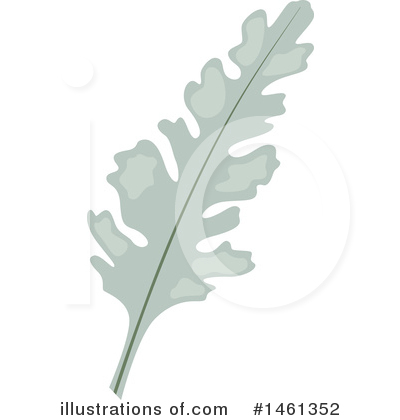 Leaf Clipart #1461352 by Cherie Reve