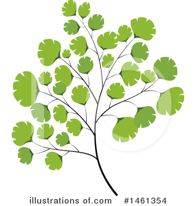 Leaf Clipart #1461354 by Cherie Reve