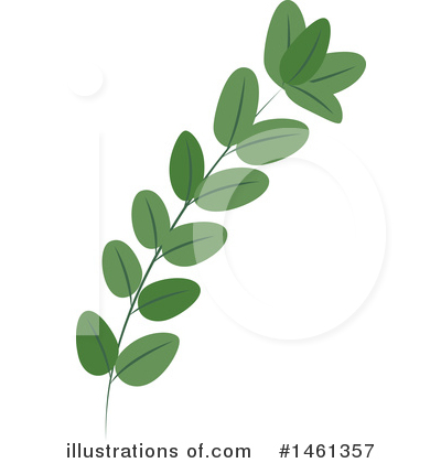 Leaf Clipart #1461357 by Cherie Reve