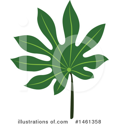Leaf Clipart #1461358 by Cherie Reve