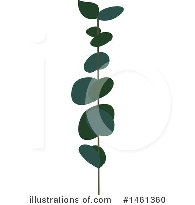 Leaf Clipart #1461360 by Cherie Reve