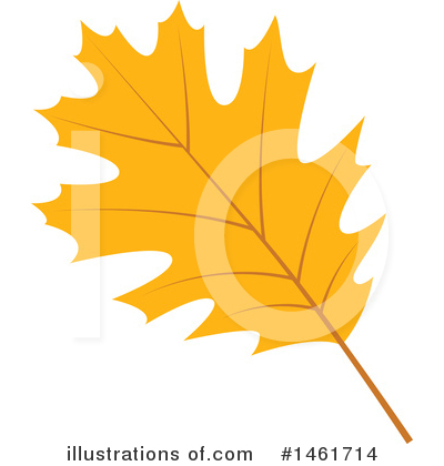 Autumn Leaf Clipart #1461714 by Cherie Reve