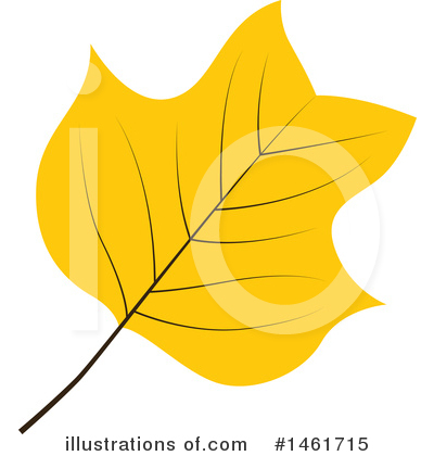 Autumn Leaf Clipart #1461715 by Cherie Reve