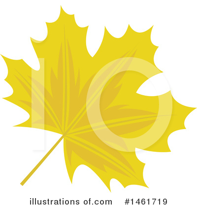 Autumn Leaf Clipart #1461719 by Cherie Reve