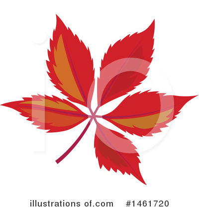 Autumn Leaf Clipart #1461720 by Cherie Reve