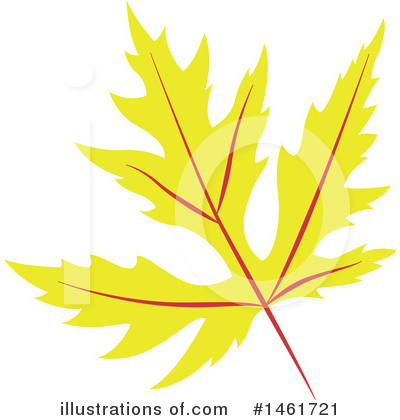 Autumn Leaf Clipart #1461721 by Cherie Reve