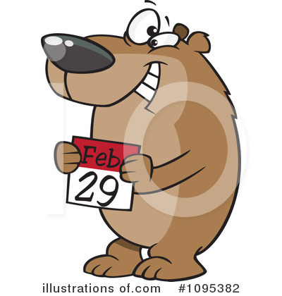 Bear Clipart #1095382 by toonaday