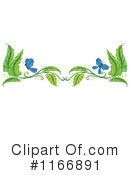 Royalty-Free (RF) Leaves Clipart Illustration #1166891