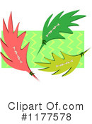 Royalty-Free (RF) Leaves Clipart Illustration #1177578