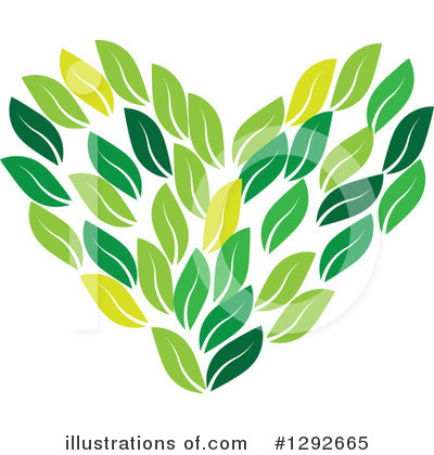 Leaves Clipart #1292665 by ColorMagic