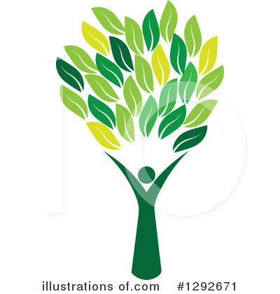 Leaves Clipart #1292671 by ColorMagic