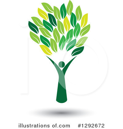 Leaves Clipart #1292672 by ColorMagic