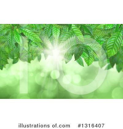 Royalty-Free (RF) Leaves Clipart Illustration by KJ Pargeter - Stock Sample #1316407
