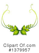 Leaves Clipart #1379957 by Graphics RF