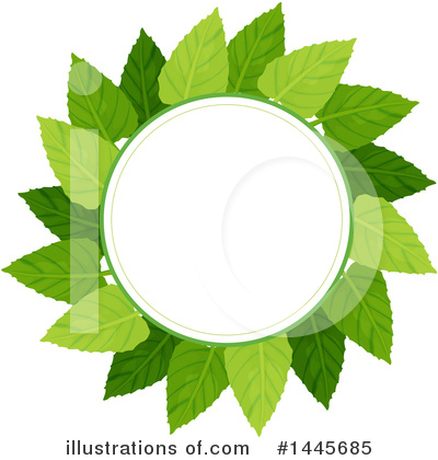 Leaves Clipart #1445685 by Graphics RF